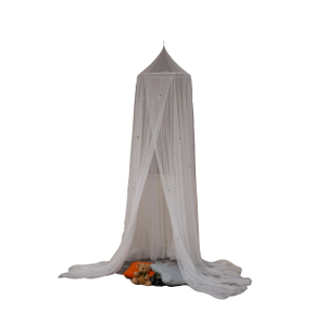 Baby Crib Castle Game Creciendo en la oscuridad Nevadas Baby Mosquito Net Crib Net