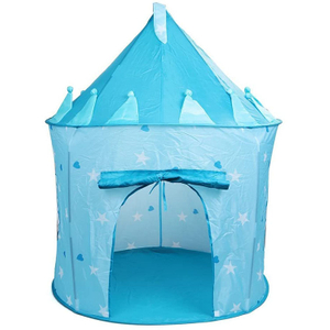 Princess Portable Kids Castle Play Tent Los niños juegan Fairy House Carpas de juguete