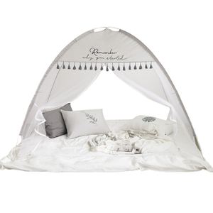Pop-Up Mosquito Net Cute Bear Baby Bed con Net Fácil de configurar